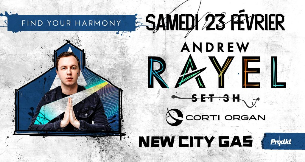Andrew Rayel (3h set) ‣ Corti Organ | Find Your Harmony